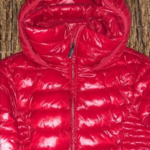 DKNY packable puffer